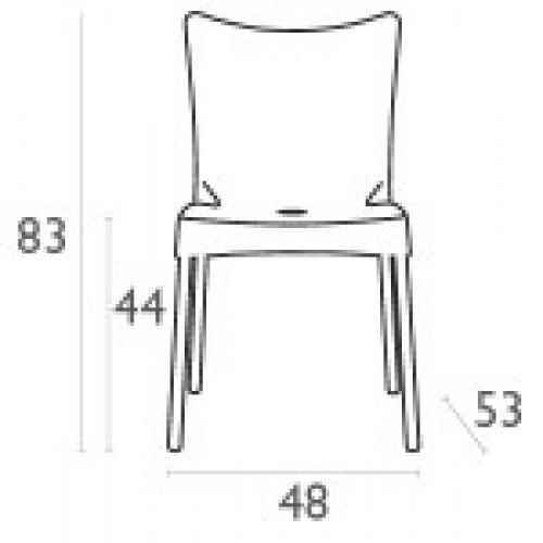 SI-Стол JULIETTE (045)БЯЛ